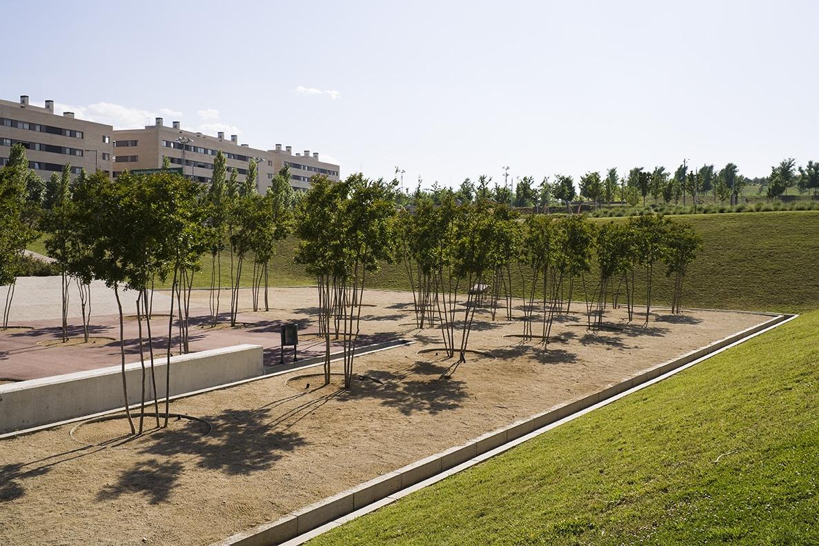Turó de Can Mates Park en Sant Cugat