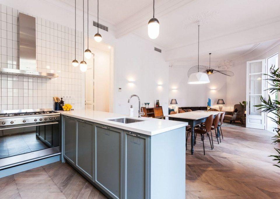 Reforma integral de vivienda en calle Mallorca