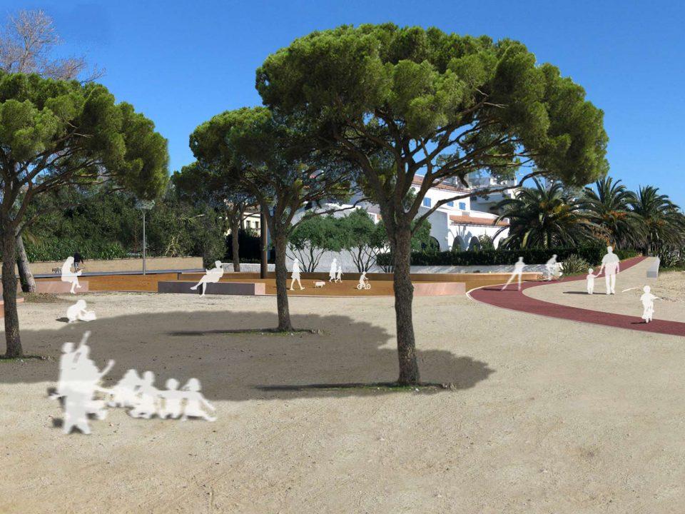 Urbanización Badia en Montroig del Camp