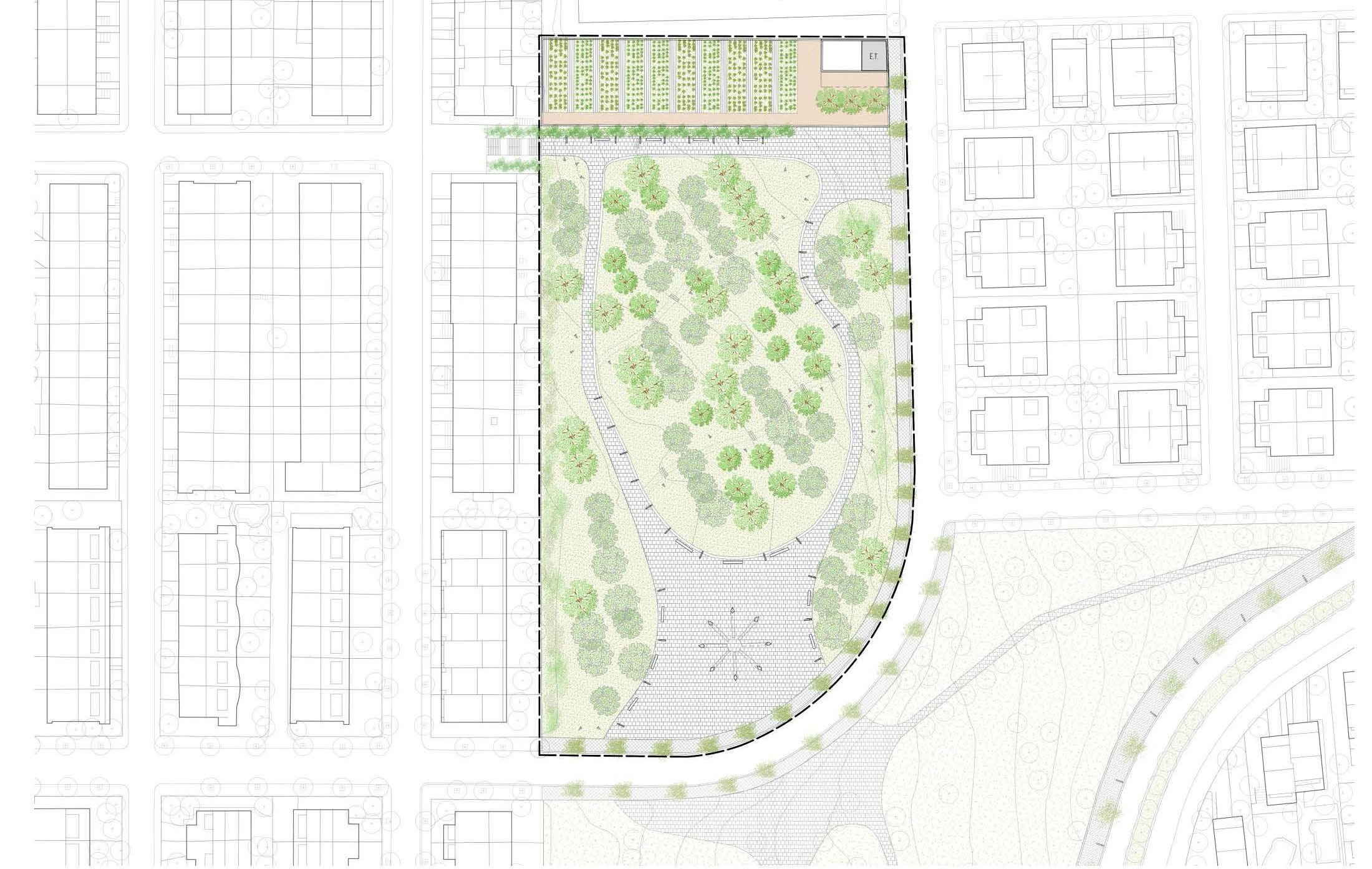 Punt Arquitectes - Urbanismo - Parc de la Dona a Abrera