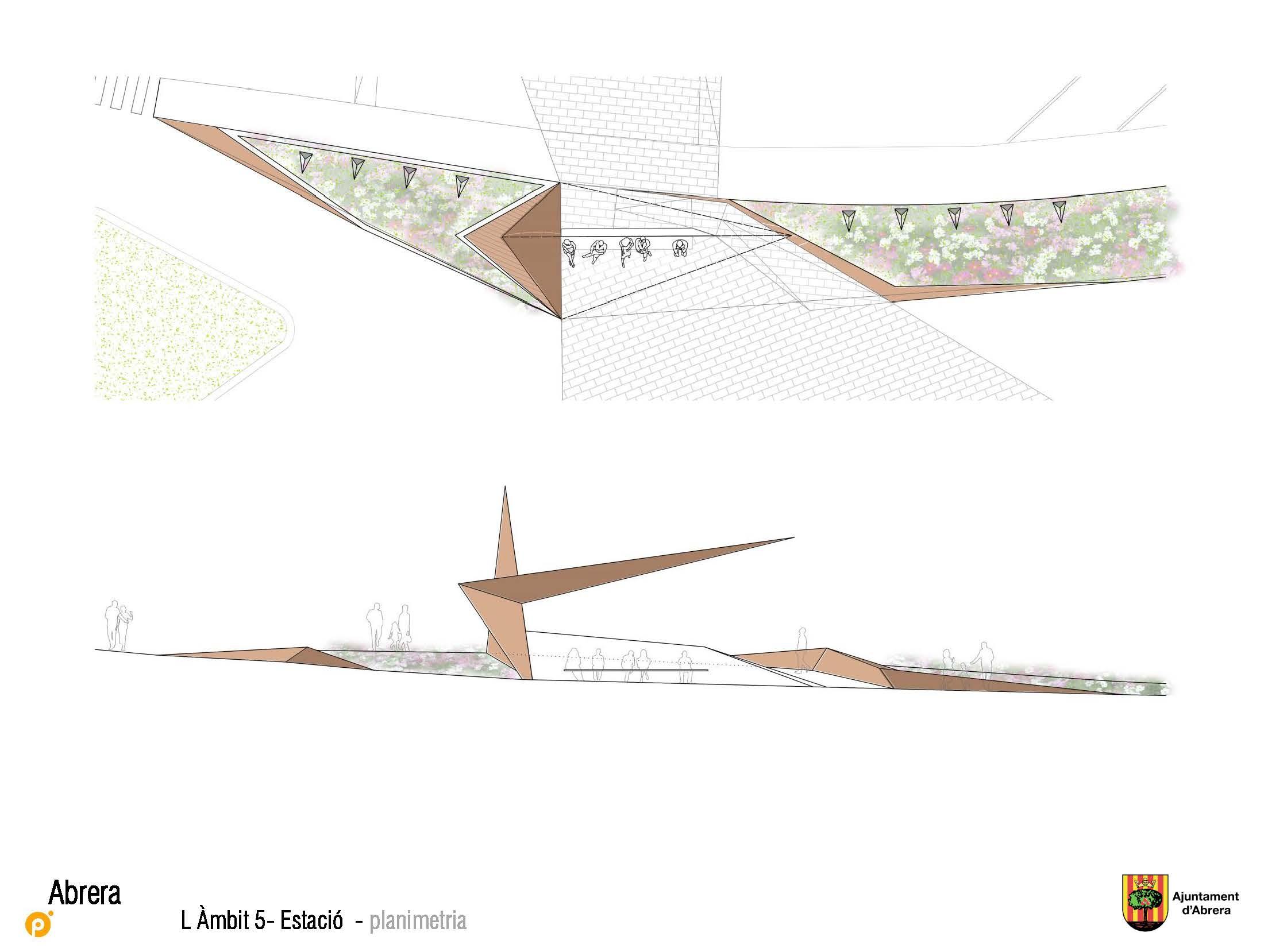 Reurbanización urbanísticas FFCC en Abrera